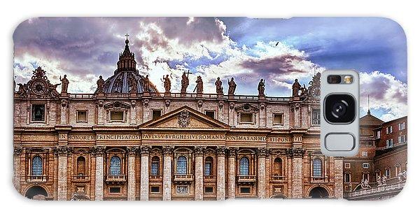 The Papal Basilica Of Saint Peter Galaxy Case