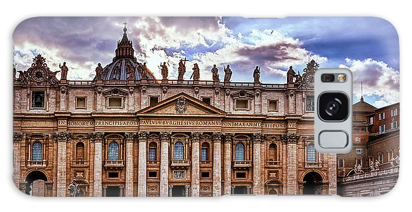The Papal Basilica Of Saint Peter Galaxy Case
