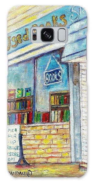 The Paperbacks Plus Book Store St Paul Minnesota Galaxy Case by Carole Spandau