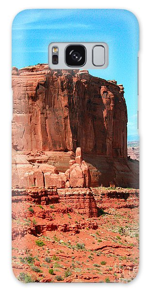 Desert View Tower Galaxy Case - The Park Avenue Courthouse Spectacle by Corey Ford
