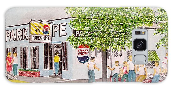 The Park Shoppe Portsmouth Ohio Galaxy Case by Frank Hunter