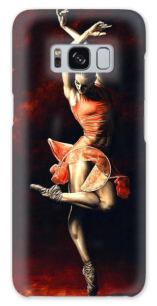 Beautiful Galaxy Case - The Passion Of Dance by Richard Young