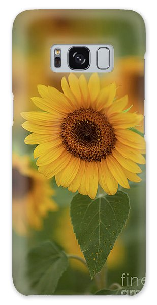 The Patch Of Sunflowers Galaxy Case
