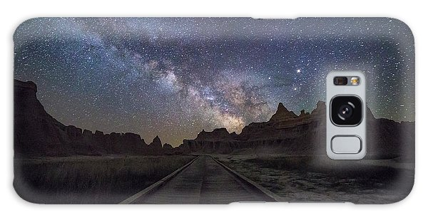 Galaxy Case featuring the photograph The Path by Aaron J Groen