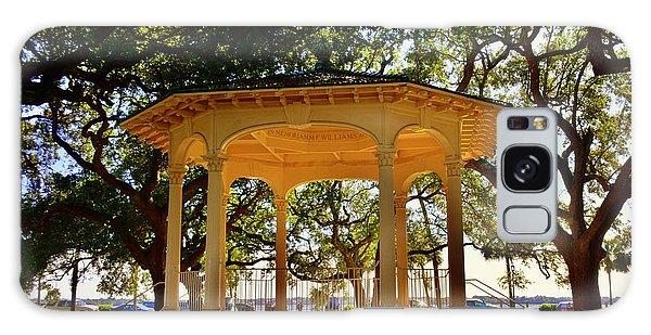 The Pavilion At Battery Park Charleston Sc  Galaxy Case