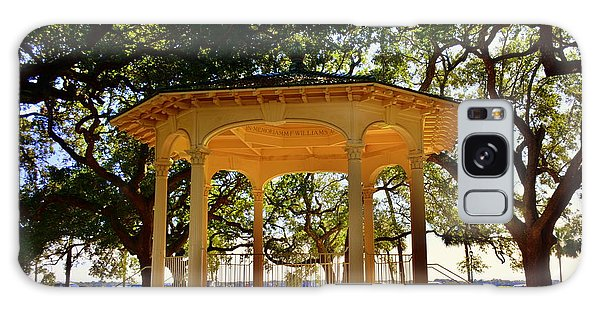 The Pavilion At Battery Park Charleston Sc  Galaxy Case