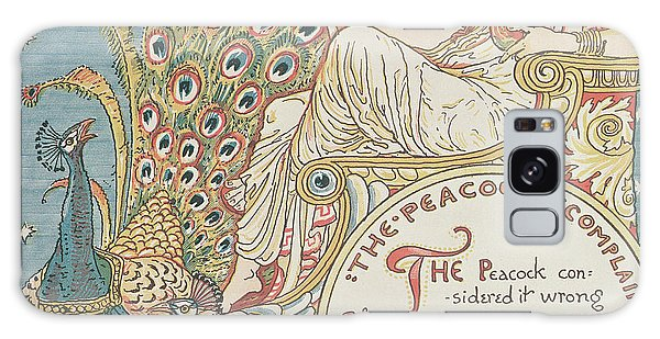 Decorative Galaxy Case - The Peacocks Complaint by English School