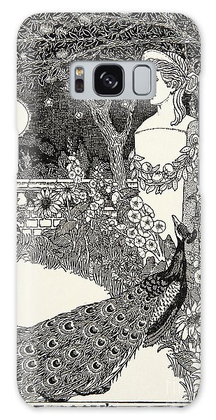 Feather Stars Galaxy Case - The Peacock's Complaint, From A Hundred Fables Of Aesop by Percy J Billinghurst