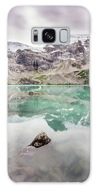 Galaxy Case featuring the photograph The Peak In A Turquoise Lake by Pierre Leclerc Photography