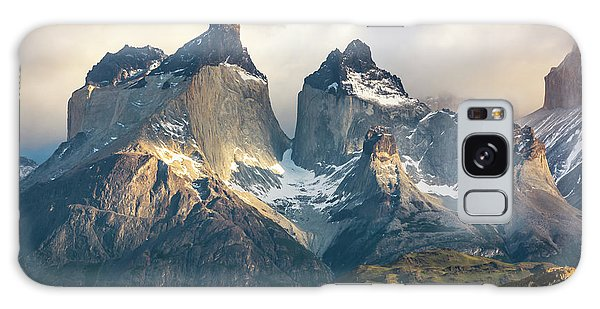 The Peaks At Sunrise Galaxy Case by Andrew Matwijec