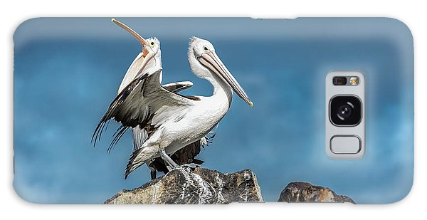 The Pelicans Galaxy Case by Racheal Christian