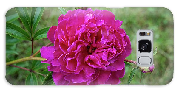 Galaxy Case featuring the photograph The Peonie by Mark Dodd