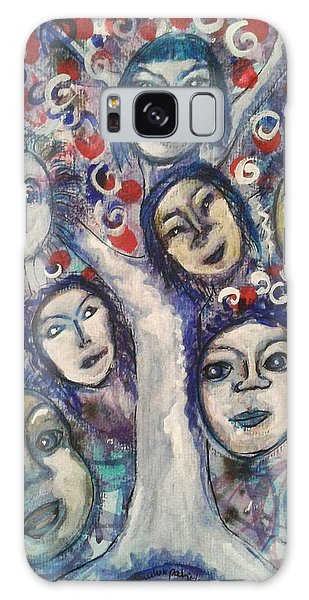 The People Tree Galaxy Case by Mimulux patricia no No