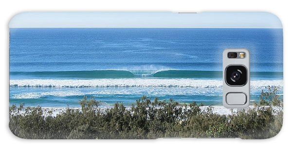 The Perfect Wave Sunrise Beach Queensland Australia Galaxy Case