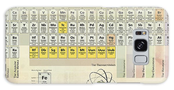 The Periodic Table Of The Elements Galaxy Case