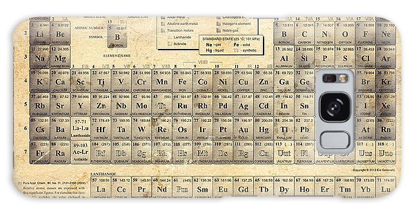 The Periodic Table Galaxy Case