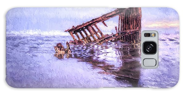 A Stormy Peter Iredale Galaxy Case
