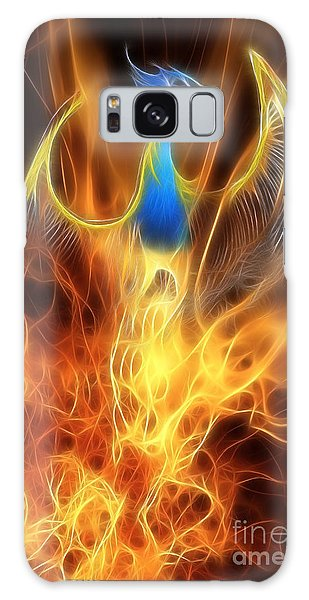 The Phoenix Rises From The Ashes Galaxy Case