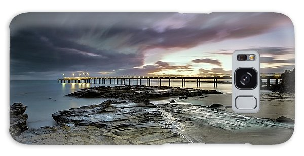 The Pier @ Lorne Galaxy Case by Mark Lucey