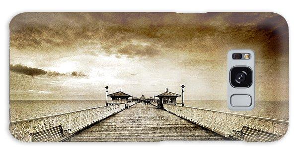 Pier Galaxy Case - the pier at Llandudno by Meirion Matthias