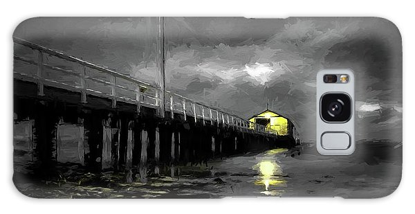 The Pier On The Bay Galaxy Case