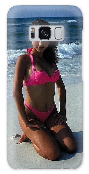 The Pink Bikini Galaxy Case