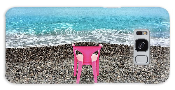 The Pink Chair Galaxy Case