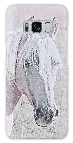 Galaxy Case featuring the photograph The Pink Horse by Jennie Marie Schell