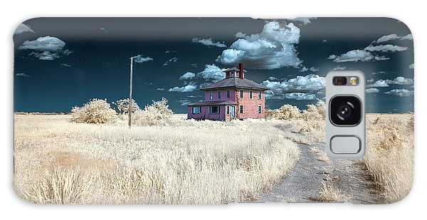 The Pink House In Halespectrum 1 Galaxy Case