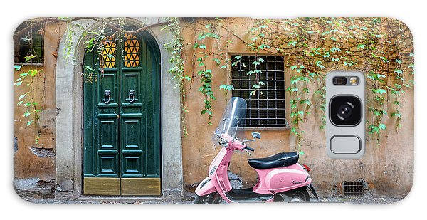 The Pink Vespa Galaxy Case