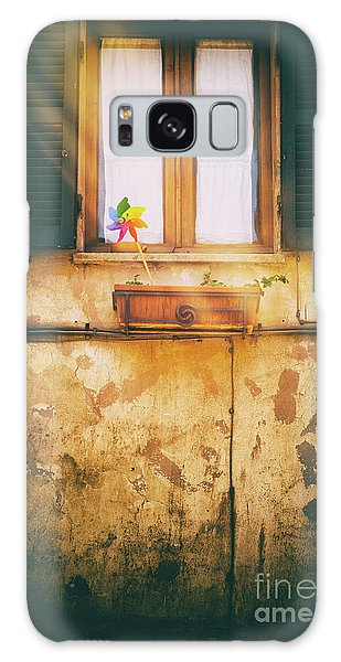 Galaxy Case featuring the photograph The Pinwheel by Silvia Ganora