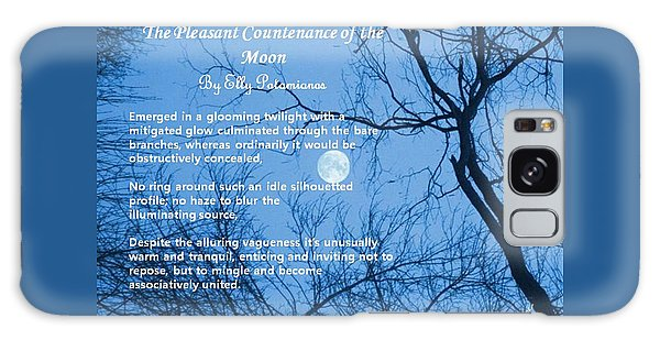 The Pleasant Countenance Of The Moon Galaxy Case