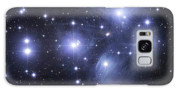 Galaxy Case featuring the photograph The Pleiades by Robert Gendler