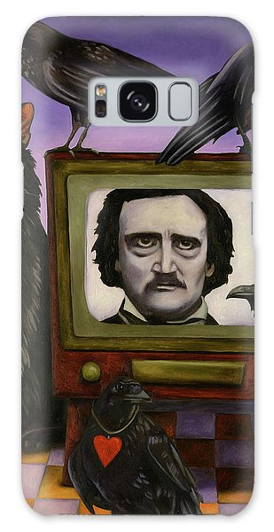 The Poe Show Galaxy Case by Leah Saulnier The Painting Maniac