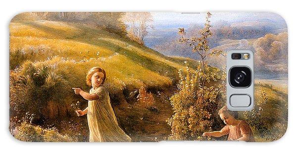 The Poem Of The Soul Spring Anne Francois Louis Janmot 1854. Galaxy Case