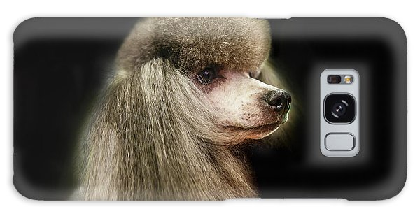The Poodle Is A Breed Of Dog, One Of The Most Common Breeds In The Present. Galaxy Case