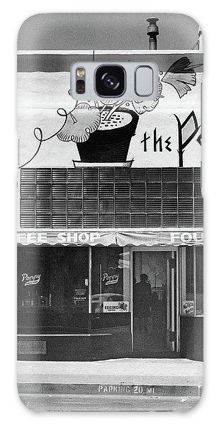 The Poppy, Coffee Shop, Fountain, Alvarado Street, Monterey Circ Galaxy Case