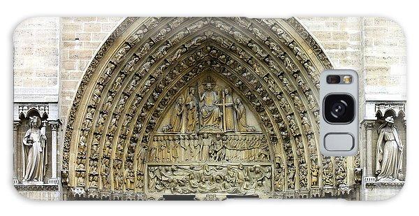 The Portal Of The Last Judgement Of Notre Dame De Paris Galaxy Case
