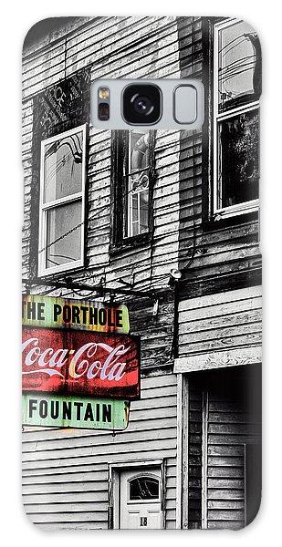 The Porthole Portland Maine Galaxy Case