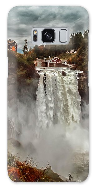 The Powerful Snoqualmie Falls Galaxy Case