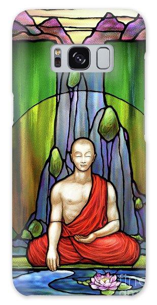 The Praying Monk Galaxy Case