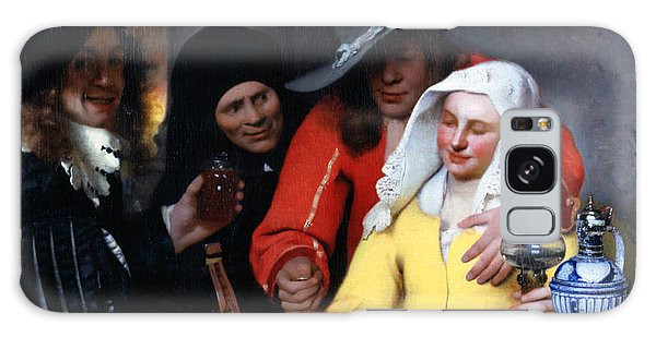 Jan Vermeer Galaxy Case - The Procuress by Jan Vermeer