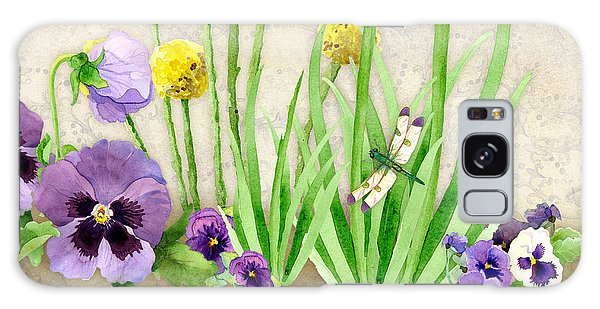 The Promise Of Spring - Dragonfly Galaxy Case by Audrey Jeanne Roberts