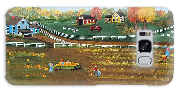 The Pumpkin Patch Galaxy Case