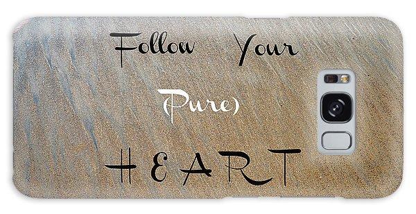 The Pure Heart Galaxy Case