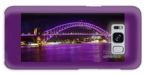 Galaxy Case featuring the photograph The Purple Coathanger By Kaye Menner by Kaye Menner