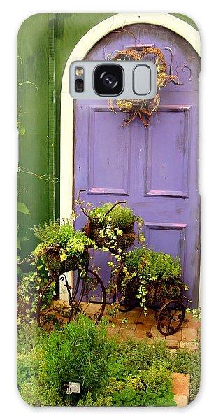 The Purple Door Galaxy Case