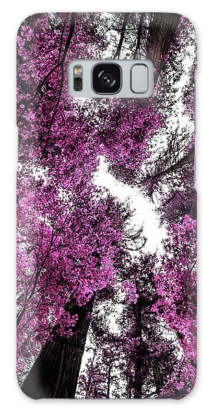 The Purple Forest Galaxy Case
