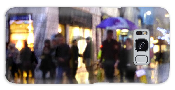 Galaxy Case featuring the photograph The Purple Umbrella by LemonArt Photography