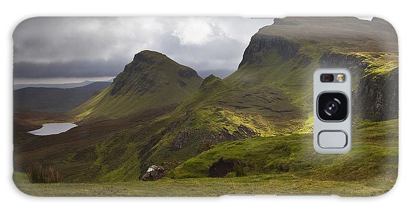 The Quiraing Isle Of Skye Scotland Galaxy Case by Gabor Pozsgai